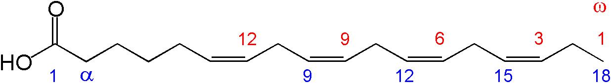 Reťazec mastnej kyseliny (EFA)