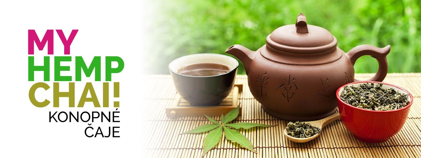 Konopný čaj MY HEMP CHAI!