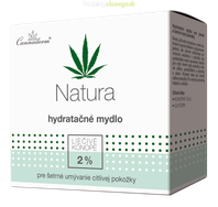 Konopné hydratačné mydlo pH5,5 NATURA Cannaderm 100g