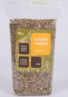 Konopné semienka nelúpané HEMPO 200g/1kg