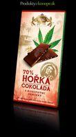 Konopná čokoláda horká Carla 70% 80g