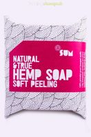 Konopné mydlo Soft Peeling Natural&True SUM 80 g