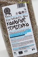Konopné semienka nelúpané NATURAL SUM 200g/1000g