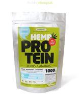 Konopný proteín kokosový s ananásom 1kg/500g/125g Zelená Země