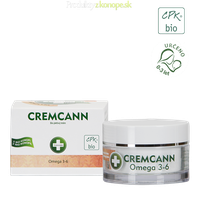 Konopný krém CREMCANN Omega 3-6 Annabis