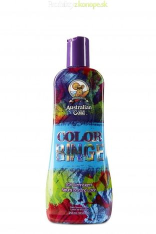 Krém do solária Color Binge Australian Gold 250ml