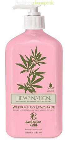 Krém po opaľovaní Hemp Nation Watermelon Lemonade Australian Gold 535ml